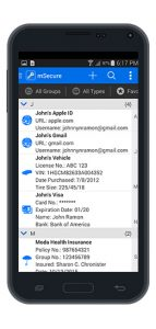 mSecure for Android