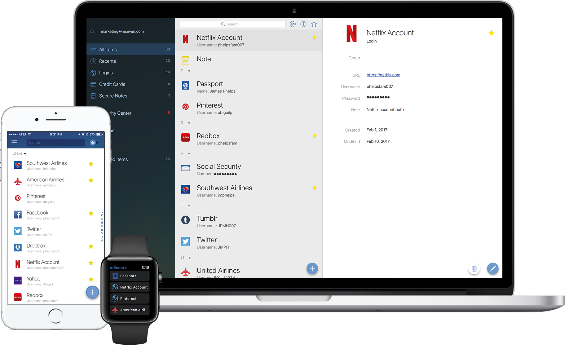 mSecure Password Manager | mSecure